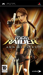 Hra pre PSP Tomb Raider: Anniversary