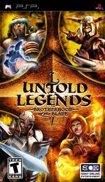 Hra pre PSP Untold Legends: Brotherhood of the Blade