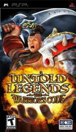 Hra pre PSP Untold Legends 2: The Warriors Code