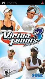 Hra pre PSP Virtua Tennis 3