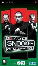 Hra pre PSP World Snooker Challenge 2005