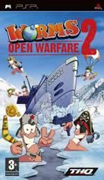 Hra pre PSP Worms: Open Warfare 2