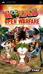 Hra pre PSP Worms: Open Warfare