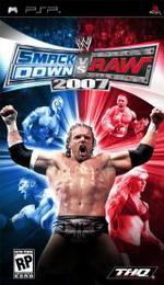 Hra pre PSP WWE SmackDown! vs. RAW 2007