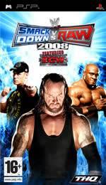 Hra pre PSP WWE SmackDown! vs. RAW 2008