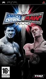 Hra pre PSP WWE SmackDown! vs. RAW 2006