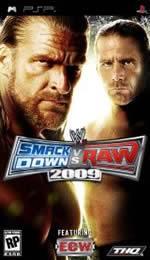 Hra pre PSP WWE SmackDown! vs. Raw 2009