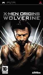 Hra pre PSP X-Men Origins: Wolverine