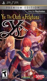 Hra pre PSP Ys: The Oath in Felghana (Premium Edition)