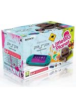Príslušenstvo pre PSP Konzola Sony PSP-3004 (tyrkysová) + LittleBigPlanet
