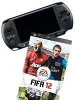 Príslušenstvo pre PSP Konzola Sony PSP-E1004 + FIFA 12
