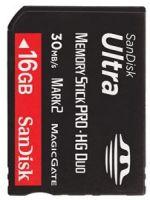 Príslušenstvo pre PSP PSP pamäťová karta SanDisk 16GB Memory Stick PRO-HG Duo Ultra II, Mark2, 30MB/s