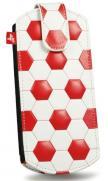 PSP pouzdro 4Gamers (červené futbalové)