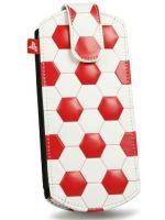 Príslušenstvo pre PSP PSP pouzdro 4Gamers (červené futbalové)