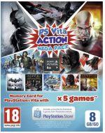 Hra pre PS Vita Action Megapack (kód na stiahnutie) + 8GB pamäťová karta