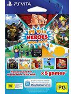 Hra pre PS Vita Heroes Megapack (kód na stiahnutie hier)