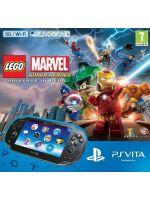 Príslušenstvo pre PS Vita Konzola Playstation Vita (3G + WiFi ) + Lego Marvel Super Heroes (VCH) + 4GB