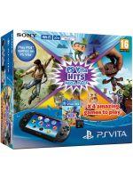 Príslušenstvo pre PS Vita Konzola PlayStation Vita + 8GB karta + Mega Pack Hits
