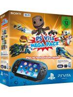 Pr�slu�enstvo pre PS Vita Konzola PlayStation Vita + Mega pack + 16GB karta