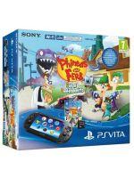 Príslušenstvo pre PS Vita Konzola PlayStation Vita Slim + 8GB karta + Phineas & Ferb