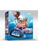 Pr�slu�enstvo pre PS Vita Konzola PlayStation Vita + Little Big Planet + 4GB karta