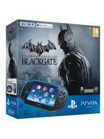 Príslušenstvo pre PS Vita Konzola PlayStation Vita (WiFi + 3G) + karta 4GB + Batman Arkham Origins Blackgate Voucher