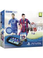 Príslušenstvo pre PS Vita Konzola PlayStation Vita Slim + 4GB karta + FIFA 15