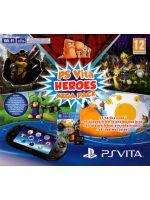 Príslušenstvo pre PS Vita Konzola PlayStation Vita Slim + 8GB karta + Heroes Megapack