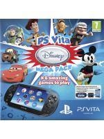 Príslušenstvo pre PS Vita konzole PlayStation Vita (Wifi + 3G) + balík 6 her od Disney + 8GB