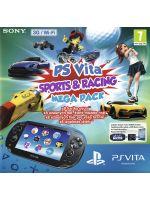 Príslušenstvo pre PS Vita Konzola PlayStation Vita (Wifi + 3G) + balík 8 hier + 8GB pam. karta