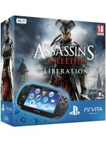 Príslušenstvo pre PS Vita Konzola PlayStation Vita + Assassins Creed: Liberation + 4GB karta