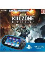 Príslušenstvo pre PS Vita Konzola PlayStation Vita (Wifi + 3G) + Killzone: Mercenary + 8GB karta