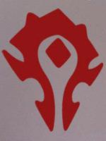 Nálepka World of Warcraft Horde symbol