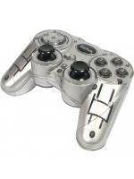 Joystick pre PC Gamepad Saitek P580 Colour Rumble Pad (strieborn�)