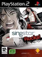Hra pre Playstation 2 Singstar Rocks + mikrofónmi