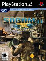 Hra pre Playstation 2 SOCOM 2: US NAVY SEALS + headset