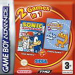 Hra pre Gameboy Advance Balík hier: Sonic Advance + Chu Chu Rocket