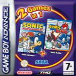 Hra pre Gameboy Advance Balík hier: Sonic Advance + Sonic Battle