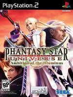 Hra pre Playstation 2 Phantasy Star Universe: Ambition of the Illuminus