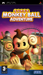 Hra pre PSP Super Monkey Ball Adventure