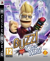 Hra pro Playstation 3 Buzz!: Světový kvíz + bezdrátová tlačítka