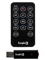 Príslušenstvo pre Playstation 3 Blu-Ray Disc Logic3 ovládač (čierny)