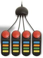 Príslušenstvo pre Playstation 3 Buzz drôtové tlačidlá