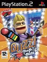 Hra pre Playstation 2 Buzz! The Pop Quiz + tlačítka