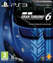 Hra pre Playstation 3 Gran Turismo 6 CZ (Anniversary Edition)