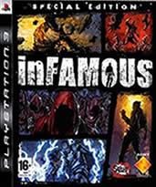 Hra pre Playstation 3 Infamous (Špeciálna edícia)