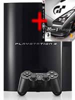 Pr�slu�enstvo pre Playstation 3 konzola Sony PlayStation 3 (40GB) + Gran Turismo 5 Prologue