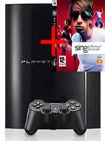 Príslušenstvo pre Playstation 3 konzola Sony PlayStation 3 (40GB) + Singstar s mikrofóny