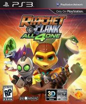 Hra pre Playstation 3 Ratchet & Clank: All 4 One