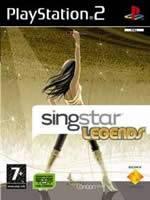 Hra pre Playstation 2 SingStar Legends + mikrof�ny
